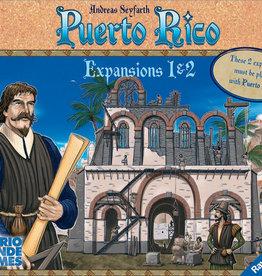 Rio Grande Games Puerto Rico: Expansions 1&2