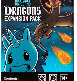 Tee-Turtle Unstable Unicorns: Dragons Expansion