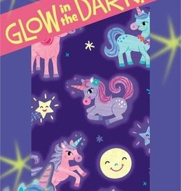 Peaceable Kingdom Glowing Unicorns Glow-in-the-Dark Stickers