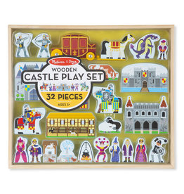 Melissa & Doug Wooden Castle Play Set