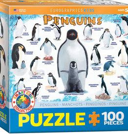 Eurographics Inc Penguins 100pc Puzzle