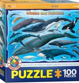 Eurographics Inc Whales & Dolphins 100pc Puzzle