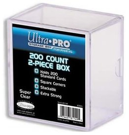 Ultra PRO Deck Box 2pc 200ct