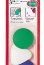 Faber-Castell 3ct Grip Erasers