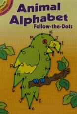 Dover Publications Animal Alphabet Follow-the- Dots