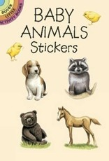 Dover Publications Baby Animals Stickers