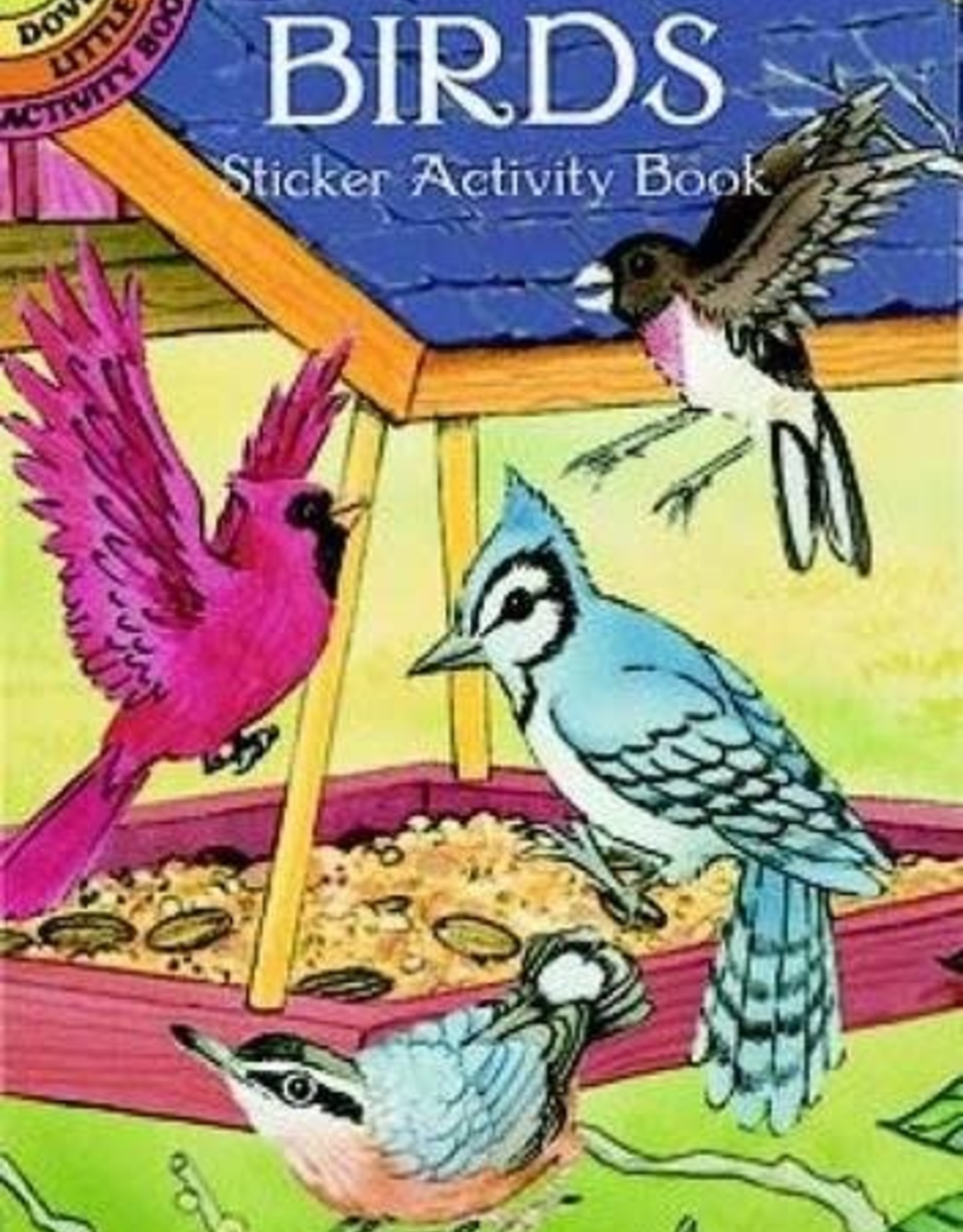 Dover Publications Birds Sticker Activity Book