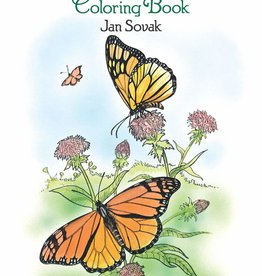 Dover Publications Butterflies Coloring Book