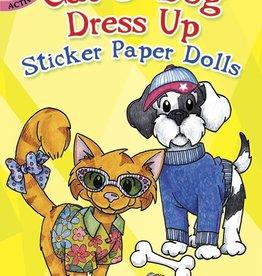 Dover Publications Cat & Dog Dress Up Sticker Paper Dolls