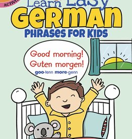 Dover Publications Color & Learn Easy German Phrases for Kids