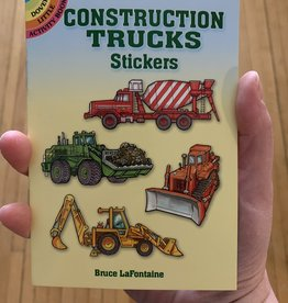 Dover Publications Construction Trucks Stickers