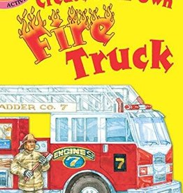 Dover Publications Create Your Own Fire Truck Activity Book