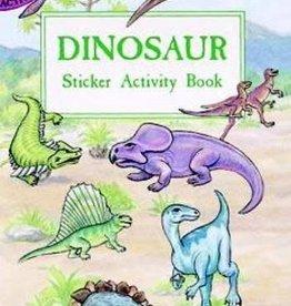 Dover Publications Dinosaur Sticker Activity Book