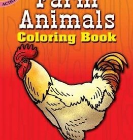 Dover Publications Farm Animals Coloring Book