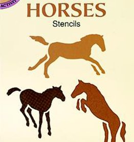 Dover Publications Fun with Horses Stencils