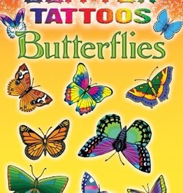 Dover Publications Glitter Tattoos Butterflies