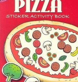 Dover Publications Make Your Own Pizza Sticker Activity Book