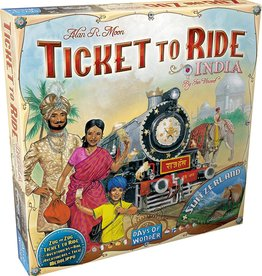 Days of Wonder Ticket To Ride: Map Collection V2 - India