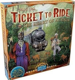 Days of Wonder Ticket To Ride: Map Collection V3 - The Heart of Africa