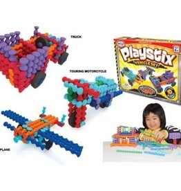 Popular Playthings Playstix Vehicles Set - 130 pcs