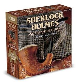Bepuzzled Sherlock Holmes Mystery Jigsaw 1000pc.