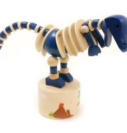 House of Marbles Wobbly Dinosaur Press-Up