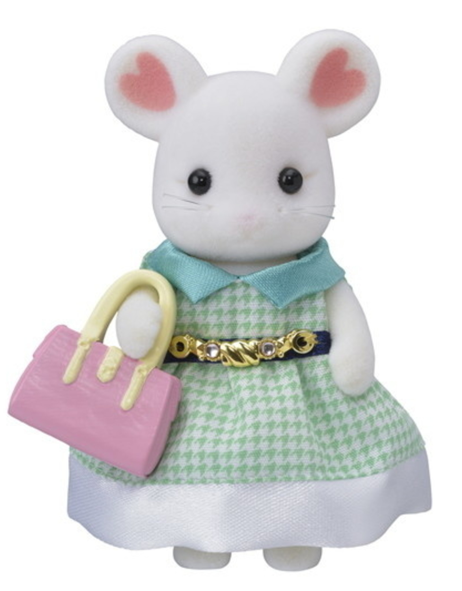 Calico Critters Town Girl Series - Stephanie Marshmallow