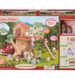 Calico Critters: Adventure Tree House Gift Set