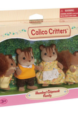 Calico Critters: Hazelnut Chipmunk Family