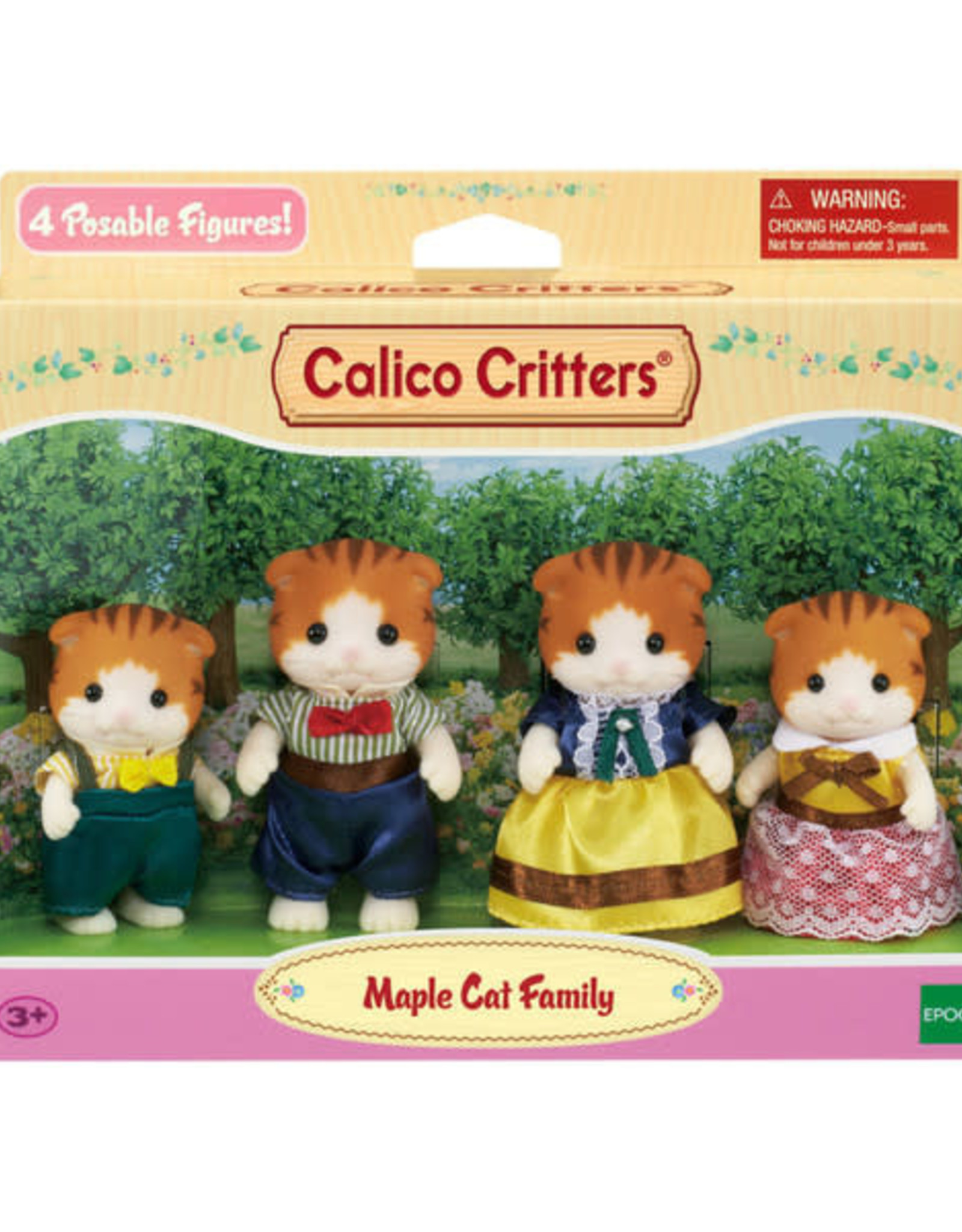 Calico Critters: Maple Cat Family