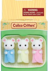 Calico Critters: Marshmallow Mouse Triplets