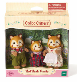 Calico Critters: Red Panda Family