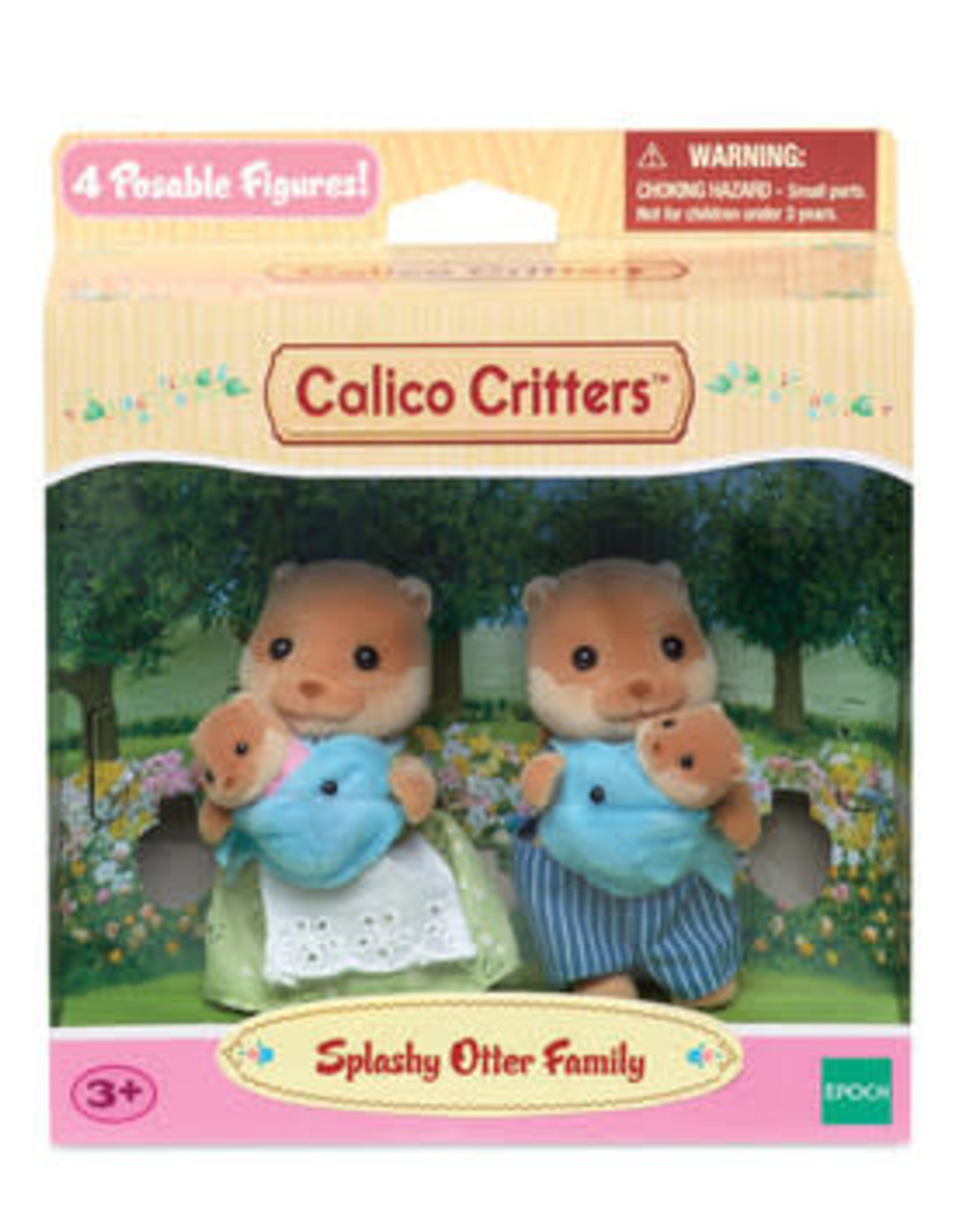 Calico Critters: Splashy Otter Family
