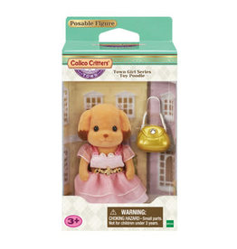 Calico Critters: Town Girl Series - Laura Toy Poodle