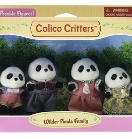 Calico Critters: Wilder Panda Bear Family