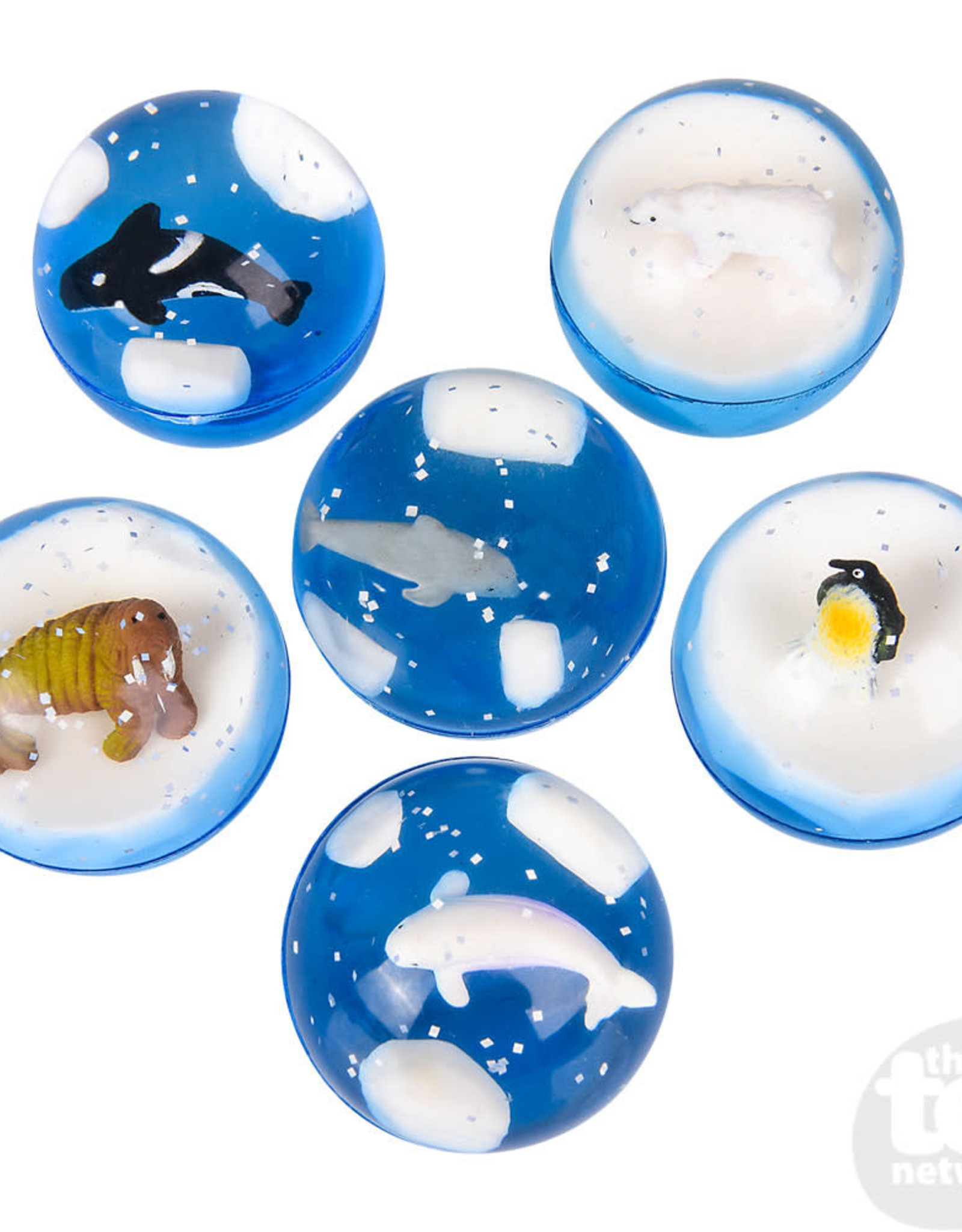 """The Toy Network 1.75"""" Arctic Hi-Bounce Ball"""