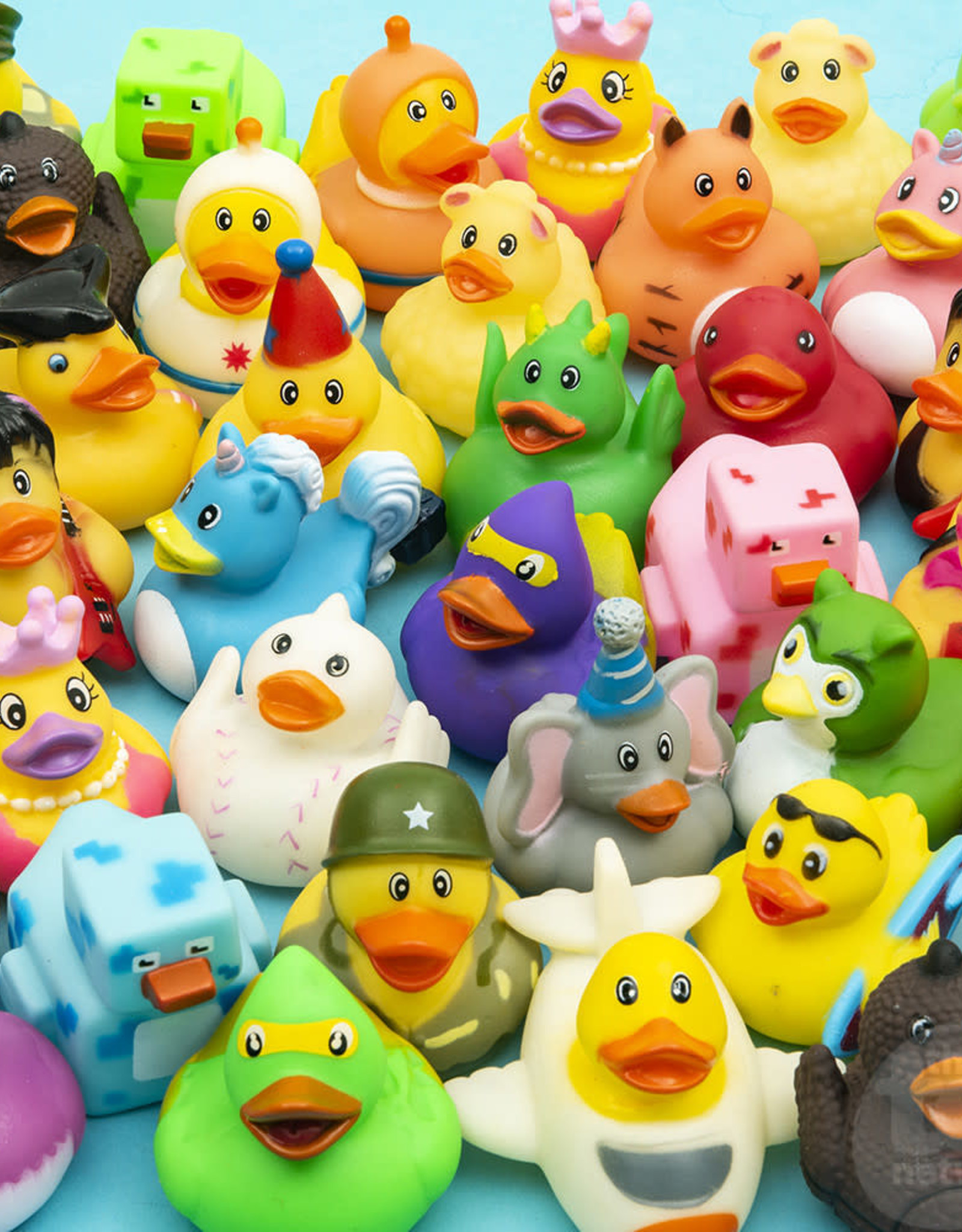 """The Toy Network 2"""" Assorted Rubber Duckie"""