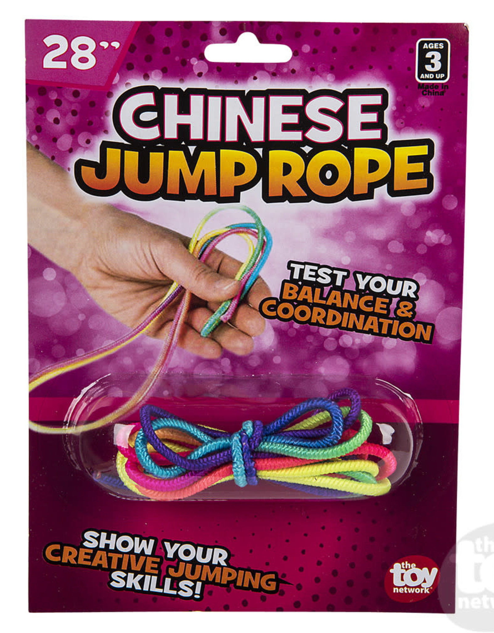 """The Toy Network 28"""" Chinese Jump Rope"""