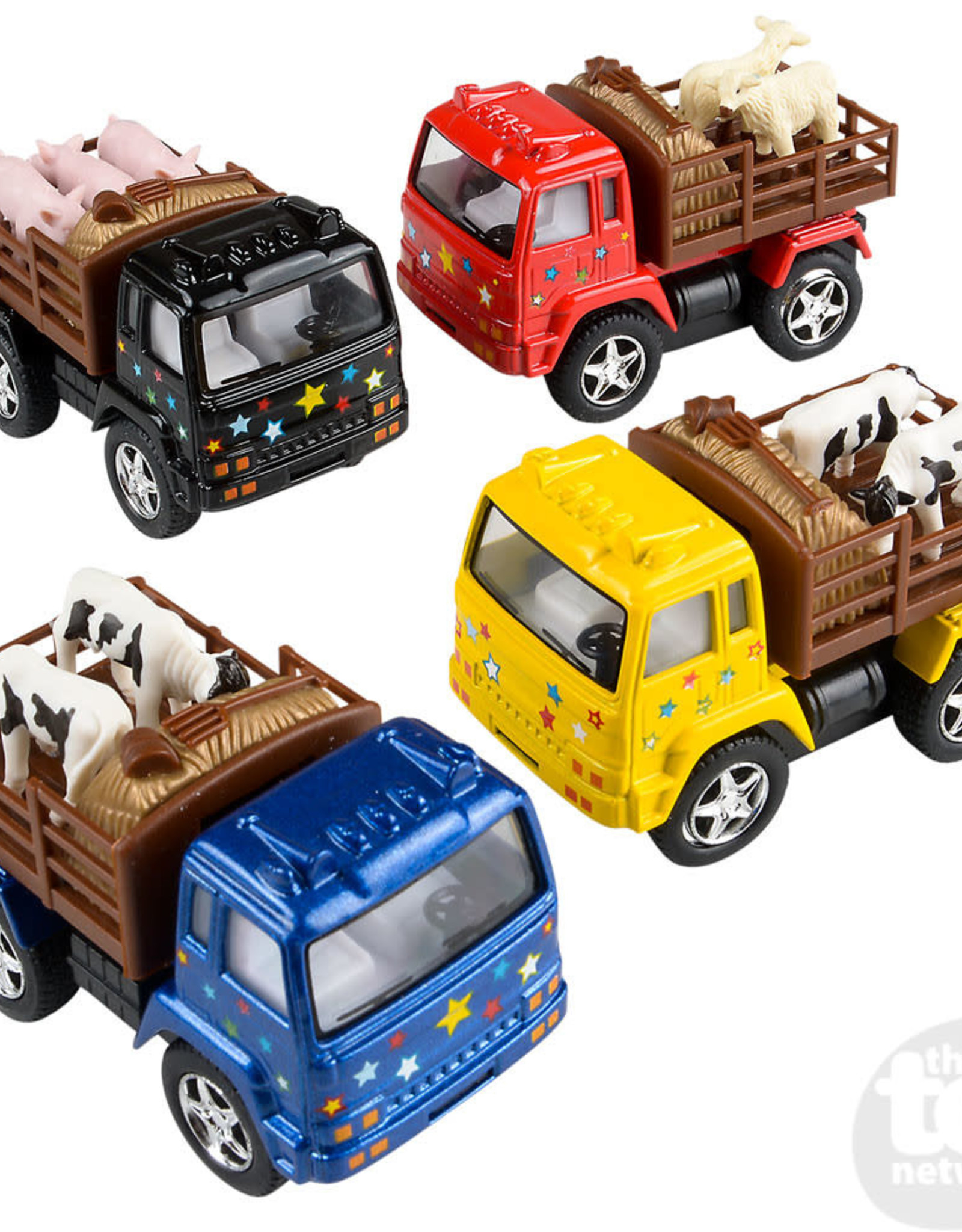 """The Toy Network 3.25"""" Die Cast Farm Truck"""