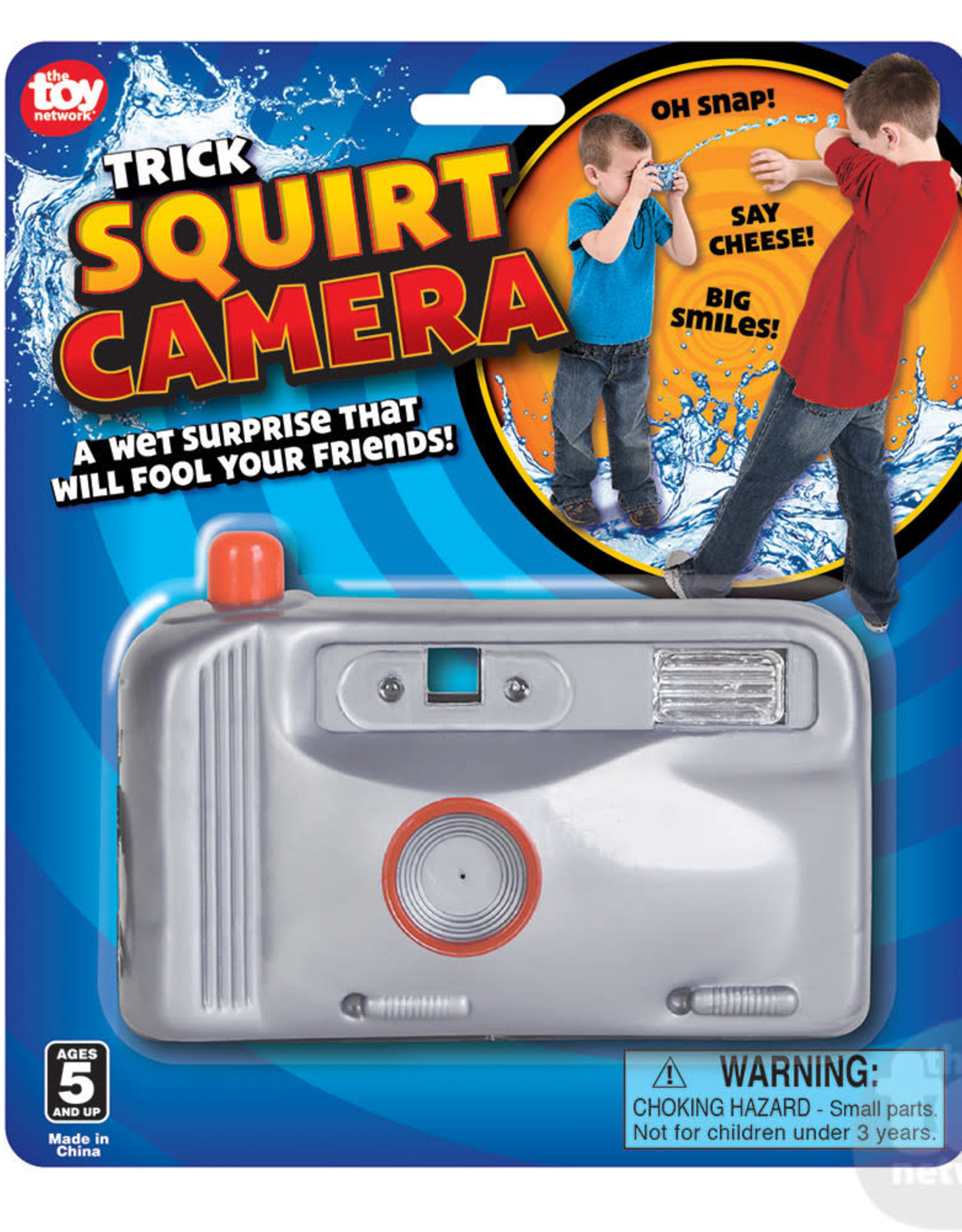 "The Toy Network 4.5"" Squirt Camera"