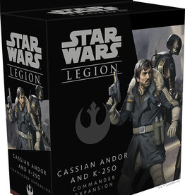 Fantasy Flight Games Star Wars Legion: Cassian Andor and K2SO