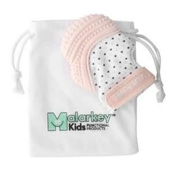 Malarkey Kids Munch Mitt Pastel Pink Hearts