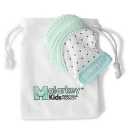 Malarkey Kids Munch Mitt Mint Green Triangles