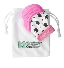 Malarkey Kids Munch Mitt Pink Unicorns