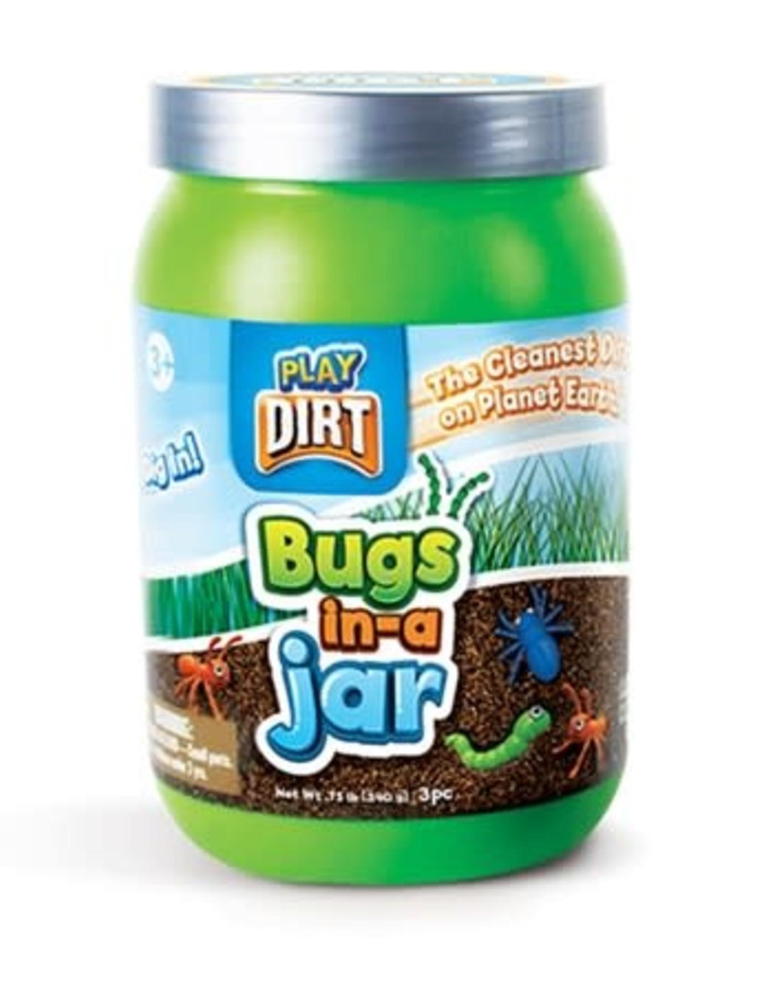 Play Dirt Bugs in a Jar