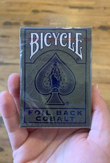Bicycle Bicycle Metalluxe Blue Playing Cards