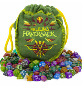 Wiz Dice Halfling's Haversack, 20 sets of 10mm dice