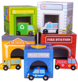 Imagination Generation Little City Nesting Blocks