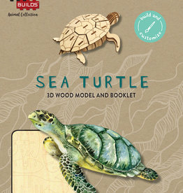 Incredibuilds Incredibuilds: Sea Turtle