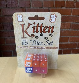 Steve Jackson Games Kitten D6 Dice Set